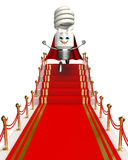 CFL Character on the red carpet Royalty Free Stock Photos