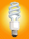 CFL Glühlampe Stockbilder