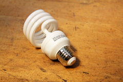 Cfl light bulb Royalty Free Stock Photography