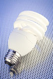 CFL Light Bulb Stock Image