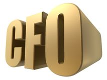 Cfo Royalty Free Stock Photography