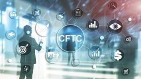 CFTC u.s. commodity futures trading commission business finance regulation concept. CFTC u.s. commodity futures trading commission business finance regulation royalty free illustration