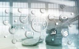 CFTC u.s. commodity futures trading commission business finance regulation concept. CFTC u.s. commodity futures trading commission business finance regulation stock illustration