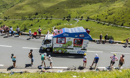 CFTC Vehicle - Tour de France 2014 Stock Images