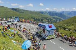 CFTC Vehicle - Tour de France 2014 Royalty Free Stock Photo