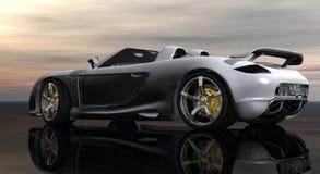 Cg car. 3d cg car render collection Royalty Free Stock Image