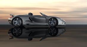 Cg car Royalty Free Stock Image