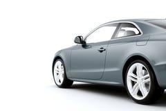 CG geeft van de generische auto van de luxecoupé terug Royalty-vrije Stock Foto's