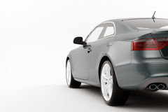 CG render of generic luxury coupe Stock Photography