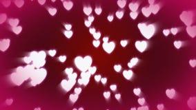 CGI心脏落 向量例证