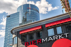 CGI and  Bier Markt buildings Stock Photo