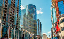 CGI building Montreal Royalty Free Stock Photography