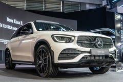 CGL de Mercedes-Benz 300 4Matic, remont?e du visage de premi?re g?n?ration, X253/C253, SUV par Mercedes Benz photographie stock