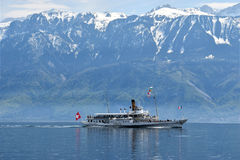 CGN - Lac Leman Royalty Free Stock Photo