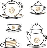 Chá ilustração royalty free