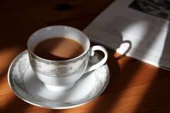 Chá adiantado, café Imagens de Stock