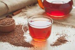 Chá africano tradicional saboroso orgânico natural imagem de stock royalty free