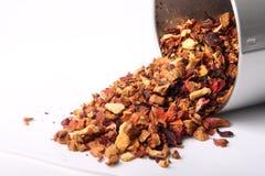 Chá alaranjado fraco da flor fotos de stock royalty free