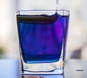 Chá azul tailandês Imagem de Stock Royalty Free