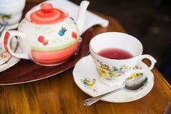 Chá britânico fotografia de stock royalty free
