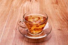 Chá com bagas Foto de Stock