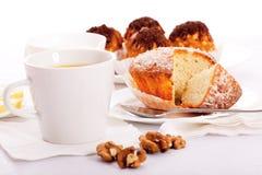 Chá com bolos Foto de Stock