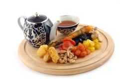 Chá com doces do leste Imagens de Stock