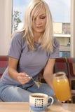 Chá com mel Imagem de Stock