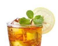 Chá congelado Foto de Stock