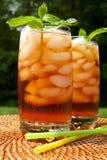 Chá congelado imagens de stock