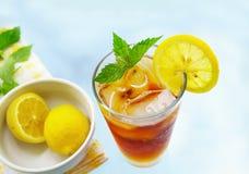 Chá congelado foto de stock royalty free