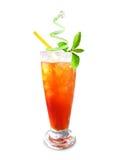 Chá congelado Fotografia de Stock Royalty Free