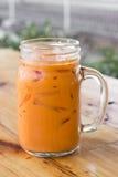 Chá congelado do leite Imagens de Stock