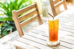 Chá congelado do limão Imagens de Stock Royalty Free