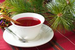 Chá da airela foto de stock