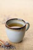 Chá da alfazema foto de stock royalty free