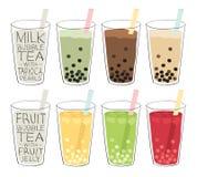 Chá da bolha ilustração royalty free