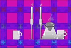 Chá da cozinha Imagem de Stock Royalty Free