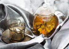Chá da flor Foto de Stock Royalty Free