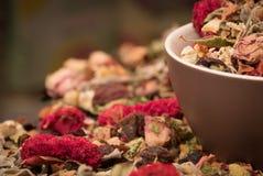 Chá da flor Fotografia de Stock Royalty Free