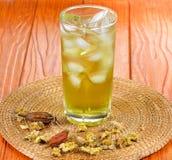 Chá da flor do morifolium do crisântemo fotografia de stock