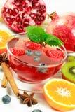 Chá da fruta do inverno Imagens de Stock
