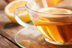 Chá da fruta do limão fotografia de stock