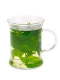 Chá da hortelã fresca fotos de stock