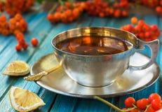 Chá da manhã Fotografia de Stock