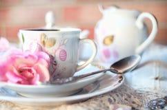 Chá da manhã Fotos de Stock Royalty Free