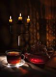 chá da meia-noite Fotografia de Stock Royalty Free