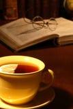 Chá da noite imagens de stock royalty free