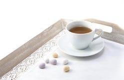 Chá da Páscoa Fotos de Stock Royalty Free
