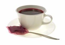 Chá da uva-do-monte imagens de stock